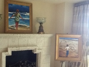 We were some of Peters first customers when he had a small gallery in the back of a gift shop in St. Augustine. These paintings are dear to us as they remind us of our children enjoying their youth on the shores of Florida. - Stacey & Ray Mayernik