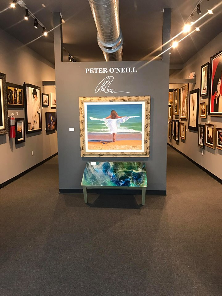 oneill art gallery in Key West Florida entryway
